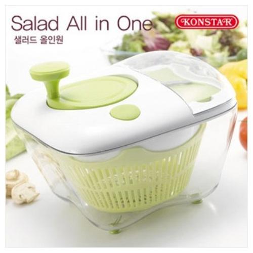 M [콘스타] 샐러드 올인원(Salad all in one) (야채탈수기/다용도채칼/슬라이서)