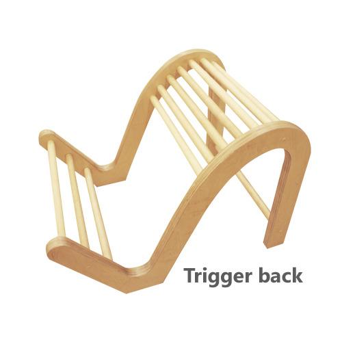 M [BODYTECHI] 바디테크 재활운동용품 Trigger Back (100*80cm/30kg)