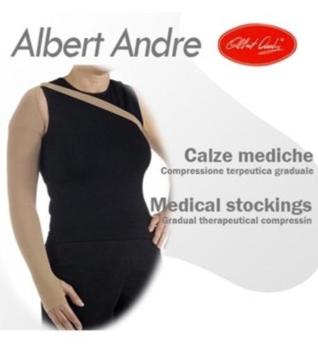 M [AlbertAndre] 알베르트앙드레 암슬리브 (손등~어깨) 가슴고정 벨트로 안정감, 좌/우 구분없음 30-40mmHg No.806