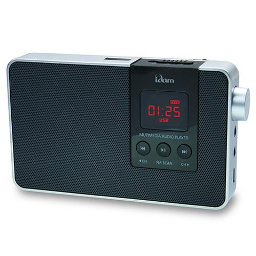 M [IDAM] 멀티스피커 붐박스 MP3 스피커 BOOM-R5