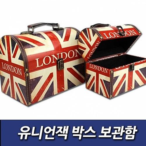 M [인테리어소품] 유니언잭 박스 보관함