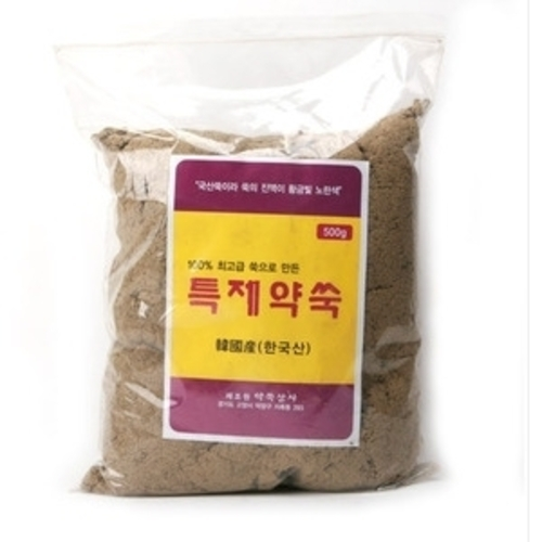 M [약쏙상사] 국산 특제 약쑥 500g(간접뜸용,좌욕기,약재용)