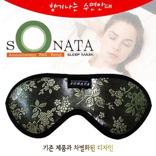 M [SONATA] 향기나는 수면안대 소나타 ( 콧날받침형)