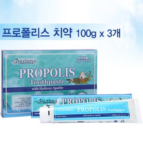 M [뉴트리나] 프로폴리스 치약 100g 3개