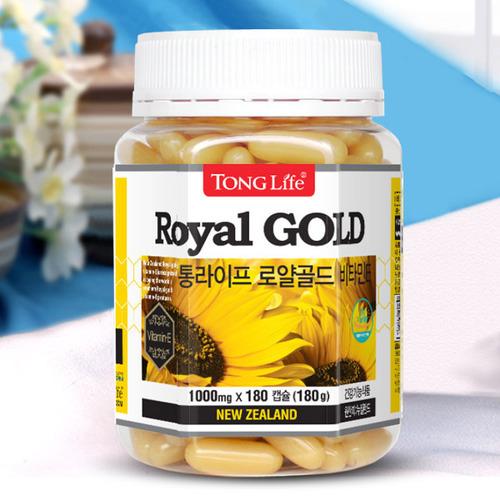M [통라이프] 로얄골드 비타민E 로얄제리 180캡슐