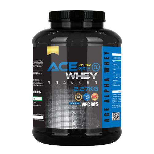 M [헬스보충제/단백질보충제] 에이스알파 웨이(2.27kg)