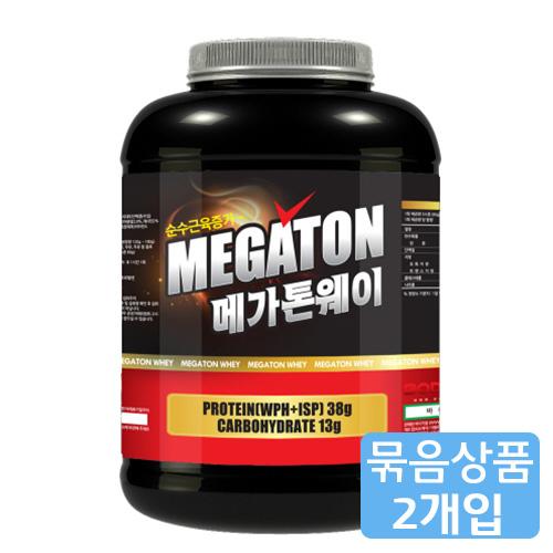 M [헬스보충제/단백질보충제] 메가톤 웨이(2.27kg)*2개묶음