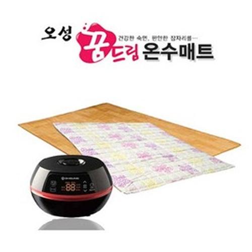 M [OHSUNG] 오성 꿈드림 온수매트 침실용(1인용/황토무늬) OHM-A301BRH (2,000*1,000mm)