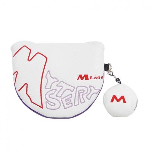 M [THE MYSTERY] 더미스테리골프 M-LINE 투볼퍼터커버