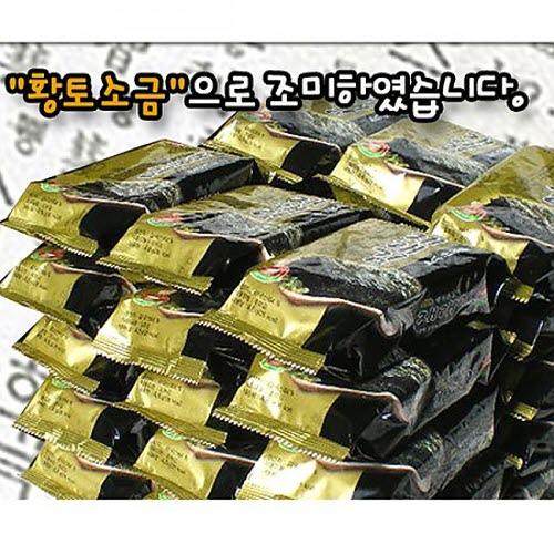 M [해가빛] 황토소금으로 구운 재래도시락김 4.6gx50봉지 / 4.6gx30봉지