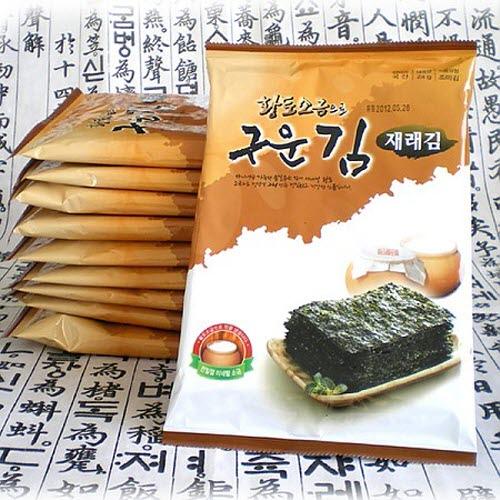 M [해가빛] 황토소금으로 구운 재래김 24gx10봉지 / 24gx20봉지 / 24gx30봉지