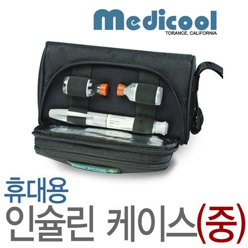 M [MEDICOOL] 메디쿨 휴대용 인슐린 보관케이스(중) 펜플러스