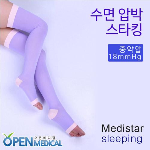 M [MEDISTAR] 메디스타 판타롱 수면압박스타킹 (18mmHg)