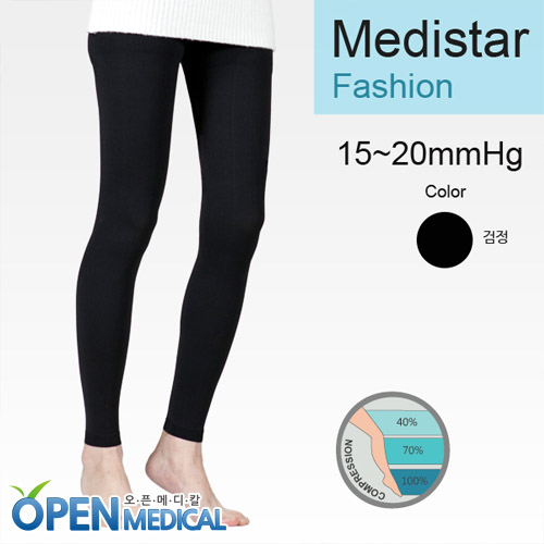 M [MEDISTAR] 메디스타 패션압박스타킹 압박레깅스 (15~20mmHg)