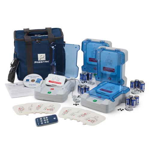 M 프레스탄 교육용 자동제세동기(심장충격기) PP-AEDT-105R 4대패키지