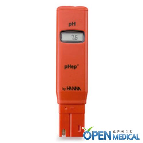 M [HANNA] 한나 휴대용 산도측정계(pH Meter) HI-98107-pHep