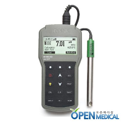 M [HANNA] 한나 산도측정계(pH Meter) HI-98190 (pH/mV/Temp)