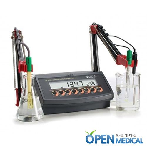 M [HANNA] 한나 산도측정계(pH Meter) HI-2550 (pH/EC/mV/TDS/Temp/RS232)