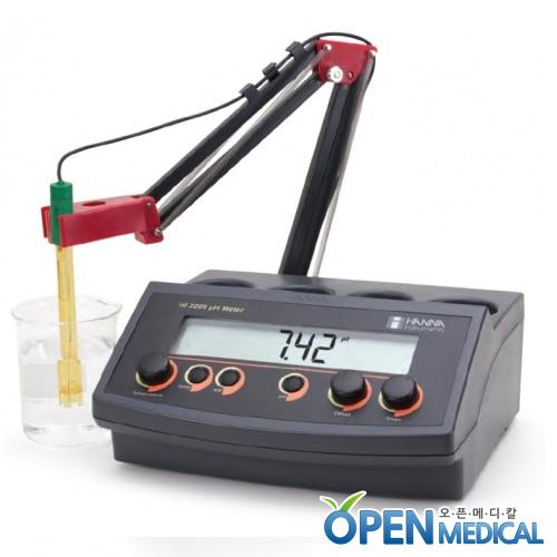 M [HANNA] 한나 산도측정계(pH Meter) HI-2209 (pH/Temp)