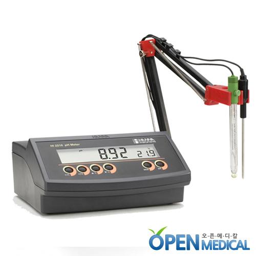 M [HANNA] 한나 산도측정계(pH Meter) HI-2210 (pH/Temp)