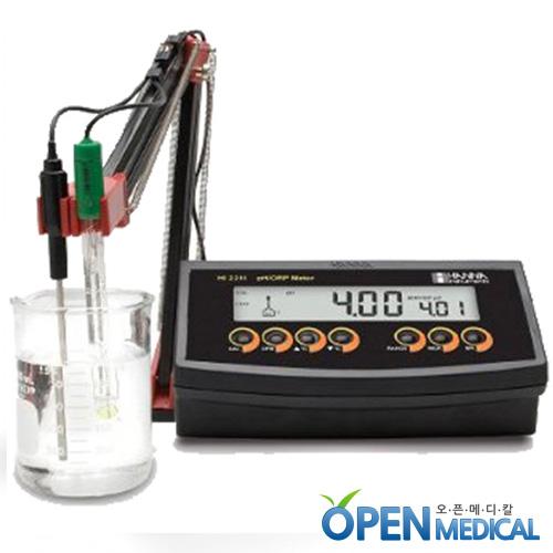 M [HANNA] 한나 산도측정계(pH Meter) HI-2211 (pH/mV/Temp)