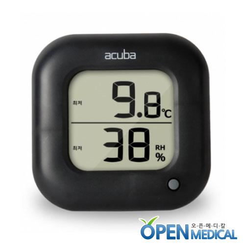 M [ACUBA] 아쿠바 디지털 온습도계 CS-204 블랙