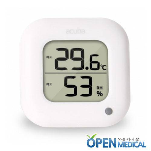 M [ACUBA] 아쿠바 디지털 온습도계 CS-204 화이트