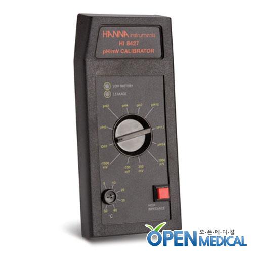 M [HANNA] 한나 휴대용 산도측정계(pH Simulator) HI-8427