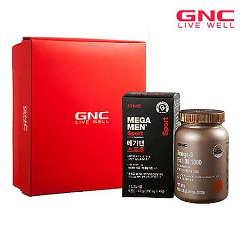 M [GNC] 플래티늄 아버님 필수 종합비타민&오메가3 2종기획세트