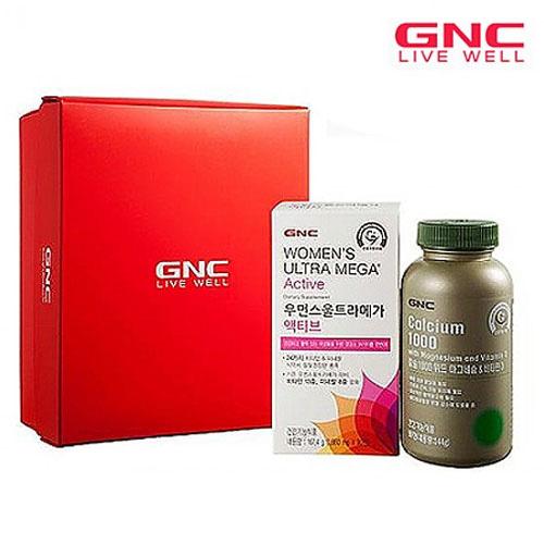 M [GNC] 플래티늄 어머님 필수 종합비타민 &칼슘2종기획세트