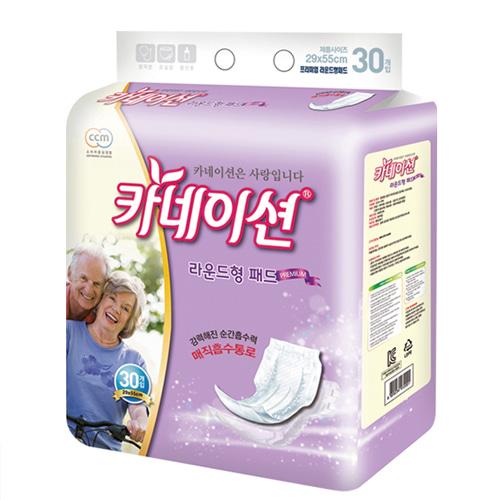 M [신우피앤씨] 카네이션 성인용기저귀 신형 속기저귀 라운드형 (240매입)