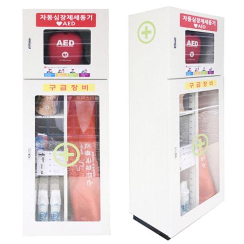 M [한국제일안전] 심장충격기 AED보관함 스탠드형 JI-AED16