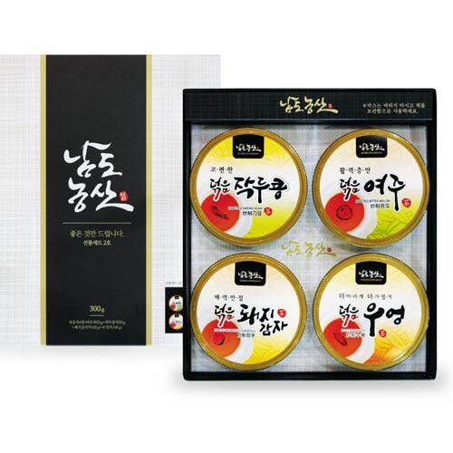 M [남도농산] 남도농산 선물세트 2호 (덖음4종으로 구성)