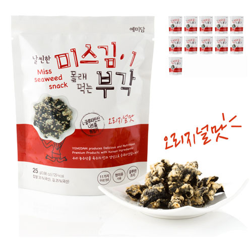 M [예미담] 날씬한 미스김이 몰래 먹는 부각(김부각) 10봉