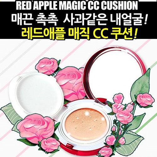 M 레드애플 매직 CC쿠션 (21호) 미라클S 리프팅백 특별증정
