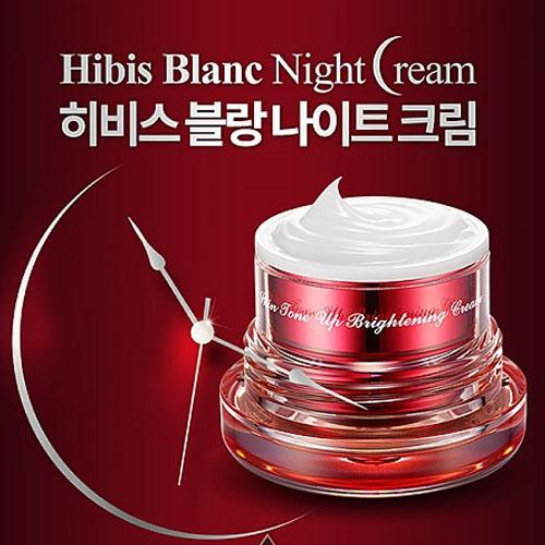 M [HibisBlanc] 히비스 블랑 나이트크림50ml