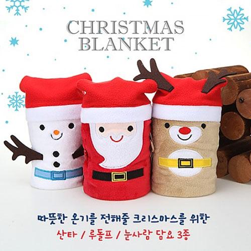 M Christmas Character 크리스마스 무릎담요/OPP포장