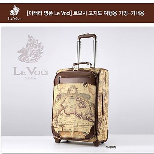 M [Le Voci] 르보치 PVC 고지도 기내용 가방, LVKH-1207S
