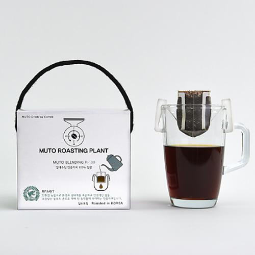 M 핸드 드립백 커피 뮤토 블렌딩 R-100 (10gX10개입)