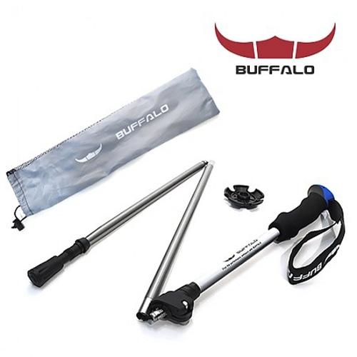 M [BFL] 버팔로 파이우트 N폴딩3단 등산스틱 1종 BWST1636