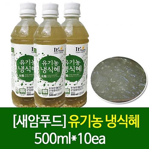 M 새암푸드 유기농 냉식혜 500ml*10ea