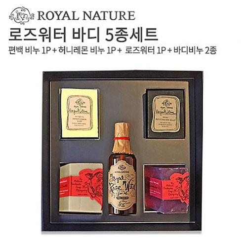 M [로얄네이처] 핸드메이드 로즈워터 바디 5종세트
