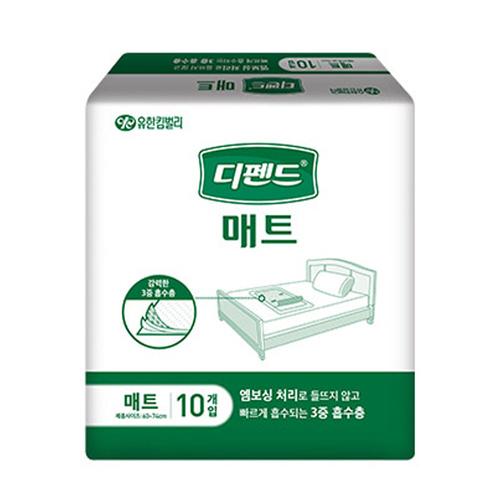 M [유한킴벌리] 디펜드 매트 (100매입)