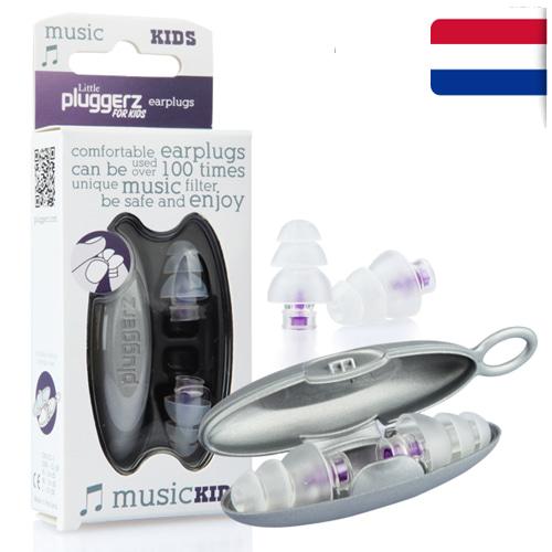 M [Pluggerz] 소음방지 귀마개 플러거즈 음악용 키즈 - Pluggerz music Kids