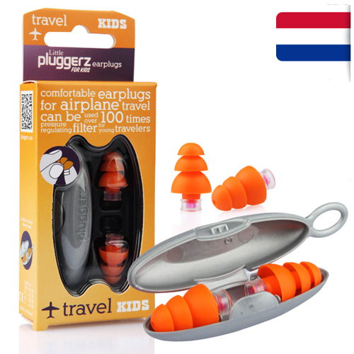 M [Pluggerz] 소음방지 귀마개 플러거즈 여행용 키즈 - Pluggerz travel Kids