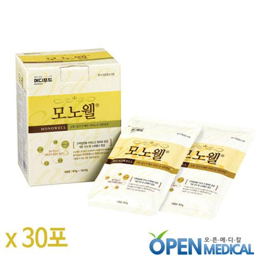 M [Medifood] 환자영양식 메디푸드 모노웰 아미노산 균형영양식 87g x 30포/박스