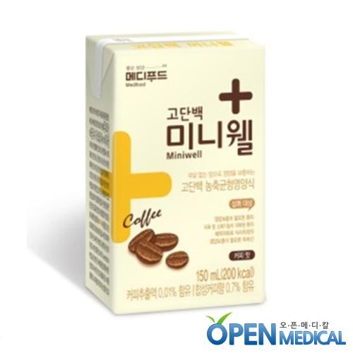 M [Medifood] 환자영양식 메디푸드 미니웰 커피맛 150ml x 24팩