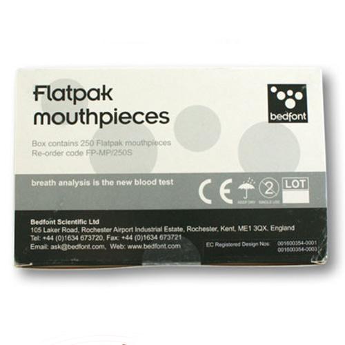 M [Bed Font] 흡연측정기 마우스피스리필 Flatpack 1박스 (250개입)