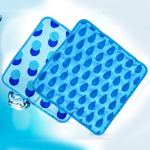 M [K&C] 케이엔씨 물방물 쿨방석 1개 (무늬랜덤)