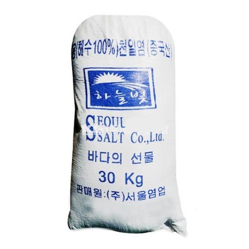 M 중국산 제설용 천일염 3000kg (30kg x 100포) - 무료배송